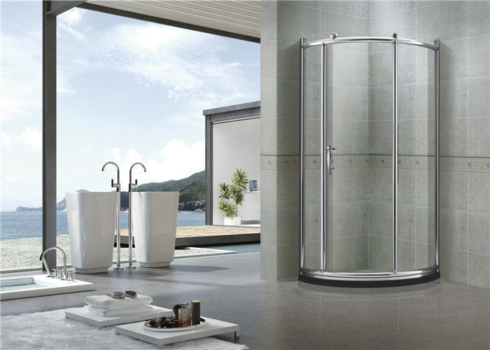 Brushed All Arc Quadrant Shower Enclosures / Tempered Glass Shower Enclosure Kit